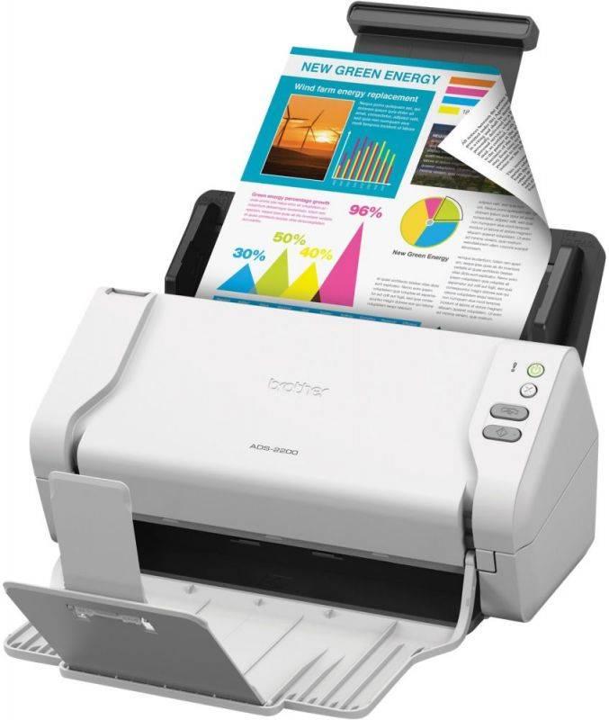 Сканер Brother ADS-2200 (ADS2200TC1) - фото 2