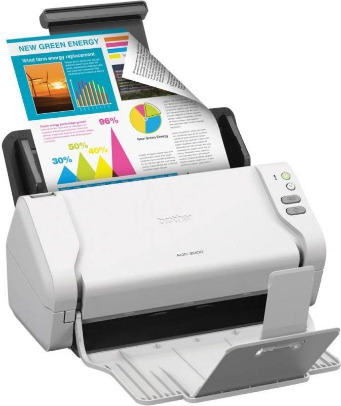 Сканер Brother ADS-2200 (ADS2200TC1) - фото 3