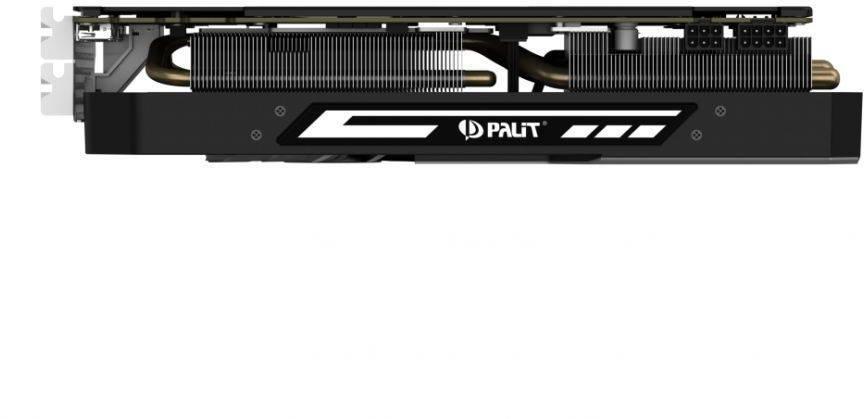 Видеокарта Palit PA-GTX1070Ti Super Jetstream 8G 8192 МБ (NE5107TP15P2-1041J) - фото 5