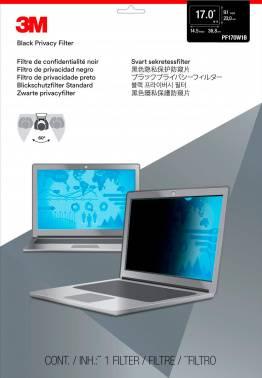 """Пленка защиты информации для ноутбука 17"""" 3M PF170W1B черный (7000013838)"""