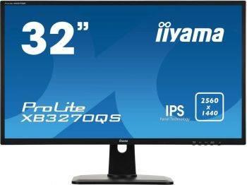 """Монитор 32"""" Iiyama ProLite XB3270QS-B1 черный"""