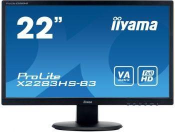 """Монитор 21.5"""" Iiyama X2283HS-B3 черный"""