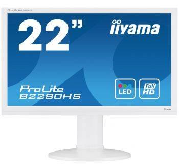 "Монитор 21.5"" Iiyama ProLite B2280HS-W1 белый"