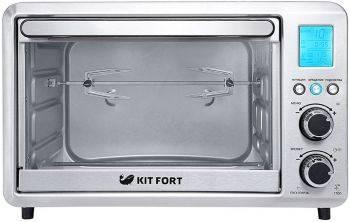 Электропечь Kitfort КТ-1705 серебристый