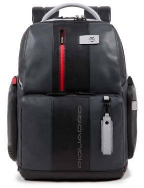 Рюкзак Piquadro Brief серый/черный (CA4550BRBM/GRN)