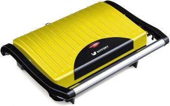 Сэндвичница Kitfort KT-1609-2 Panini Maker желтый / черный