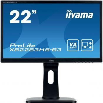 """Монитор 21.5"""" Iiyama ProLite XB2283HS-B3 черный"""