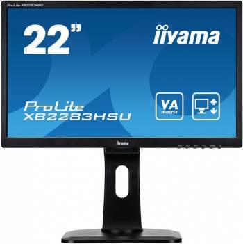 """Монитор 21.5"""" Iiyama ProLite XB2283HSU-B1DP черный"""