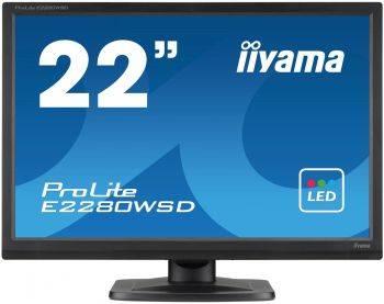 "Монитор 22"" Iiyama ProLite E2280WSD-B1 черный"