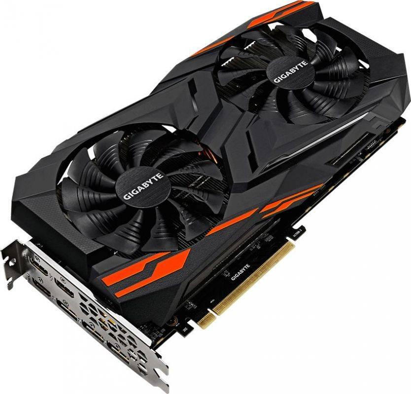 Видеокарта Gigabyte Radeon RX VEGA 56-8G 8192 МБ (GV-RXVEGA56GAMING OC-8GD) - фото 1