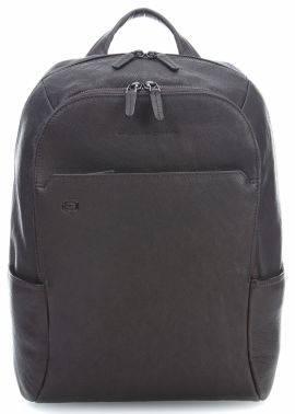 Рюкзак Piquadro Black Square темно-коричневый, кожа натуральная (CA3214B3/TM)