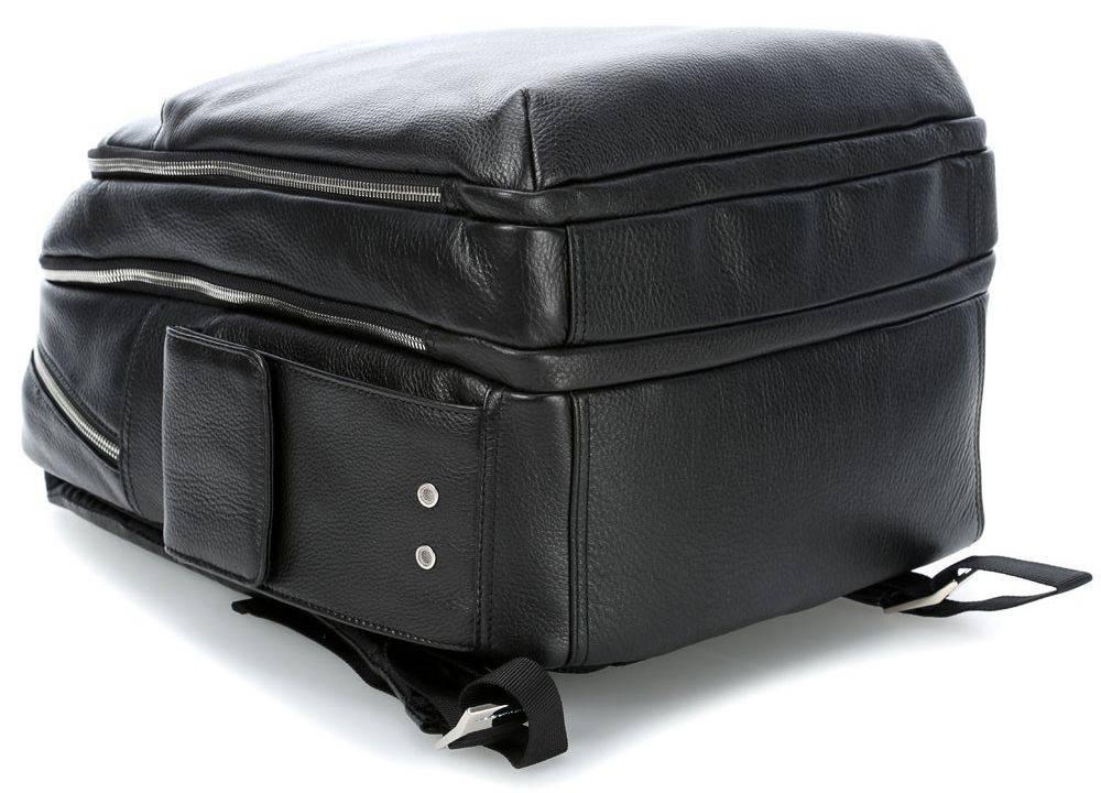 Рюкзак Piquadro Modus черный, кожа натуральная (CA3444MO/N) - фото 4