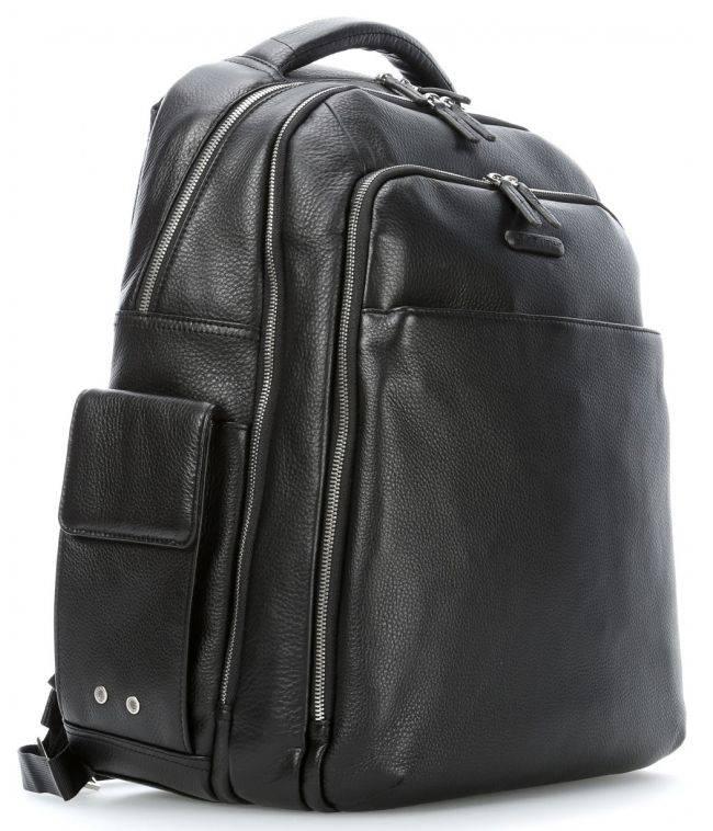Рюкзак Piquadro Modus черный, кожа натуральная (CA3444MO/N) - фото 5