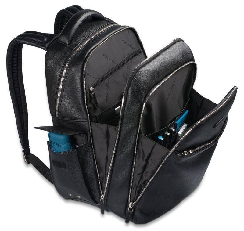 Рюкзак Piquadro Modus черный, кожа натуральная (CA3444MO/N) - фото 9