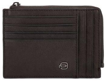 Чехол для кредитных карт Piquadro Black Square PU1243B3R/TM темно-коричневый натур.кожа