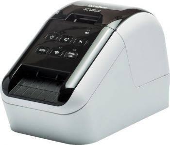 Принтер для печати наклеек Brother QL-810W серебристый/черный (QL810WR1)