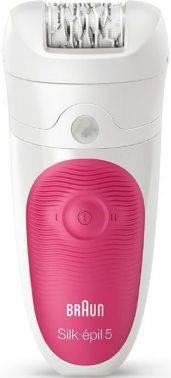 Эпилятор Braun SE5539 белый/розовый