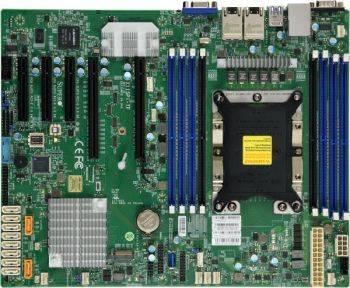 Серверная материнская плата Soc-3647 SuperMicro MBD-X11SPI-TF-O ATX