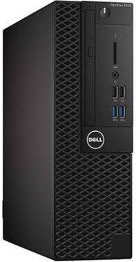 Компьютер Dell Optiplex 3050 черный (3050-6348)