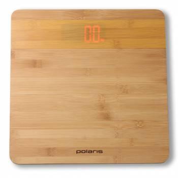 Весы напольные электронные Polaris PWS 1847D бамбук