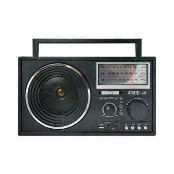 Радиоприемник Сигнал Patriot Эфир-13 черный (17840)
