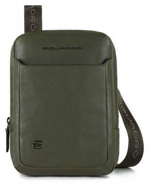 Сумка Piquadro Black Square зеленый, кожа натуральная (CA3084B3/VE)