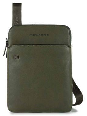 Сумка Piquadro Black Square зеленый, кожа натуральная (CA3978B3/VE)