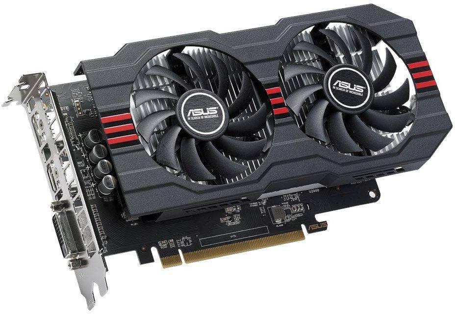 Видеокарта Asus Radeon RX 560 4096 МБ (RX560-4G-EVO) - фото 1