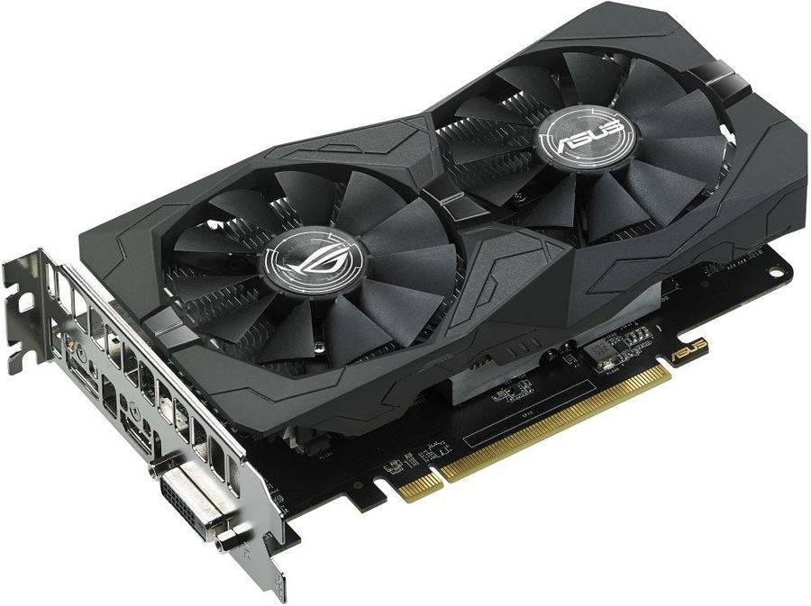 Видеокарта Asus Radeon RX 560 4096 МБ (ROG-STRIX-RX560-4G-EVO-GAMING) - фото 1