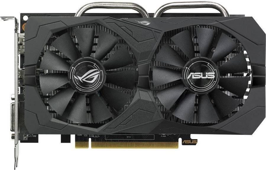 Видеокарта Asus Radeon RX 560 4096 МБ (ROG-STRIX-RX560-4G-EVO-GAMING) - фото 2