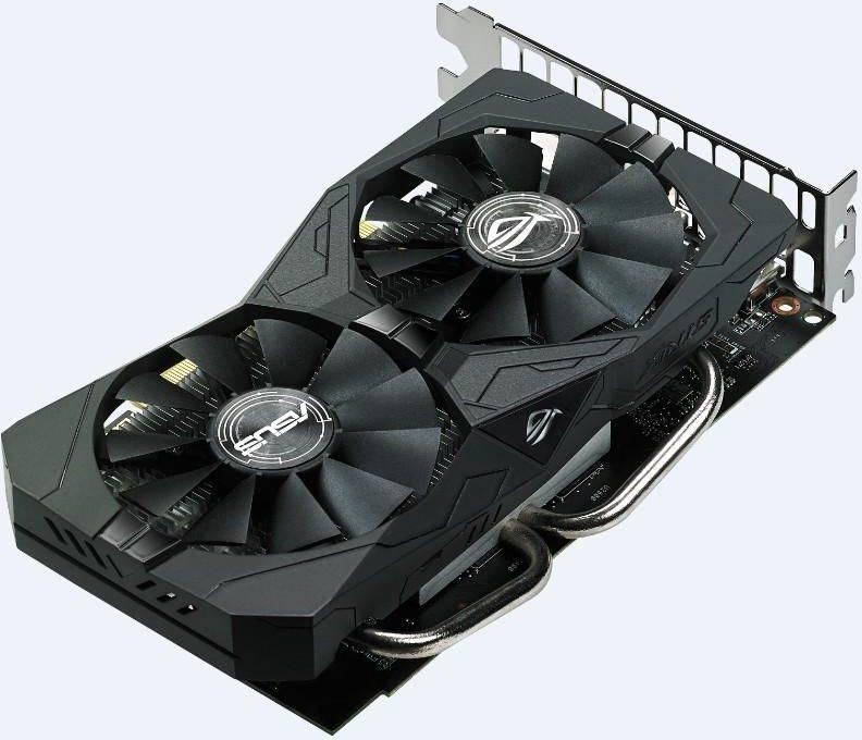 Видеокарта Asus Radeon RX 560 4096 МБ (ROG-STRIX-RX560-4G-EVO-GAMING) - фото 3