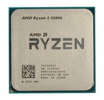 Процессор AMD Ryzen 3 2200G SocketAM4 BOX (YD2200C5FBBOX)
