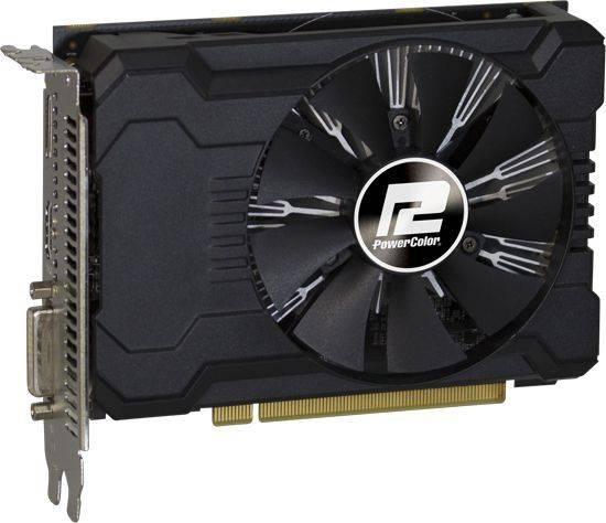 Видеокарта PowerColor Radeon RX 550 2GB 2048 МБ (AXRX 550 2GBD5-DHA/OC) - фото 3