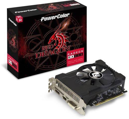 Видеокарта PowerColor Radeon RX 550 2GB 2048 МБ (AXRX 550 2GBD5-DHA/OC) - фото 4
