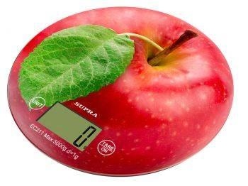 Кухонные весы Supra BSS-4300 рисунок/яблоко (11431)