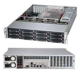 Корпус SuperMicro CSE-826BAC4-R920LPB 2 x 920 Вт черный (CSE-826BAC4-R920LPB)