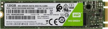 Накопитель SSD 120Gb WD Green WDS120G2G0B SATA III