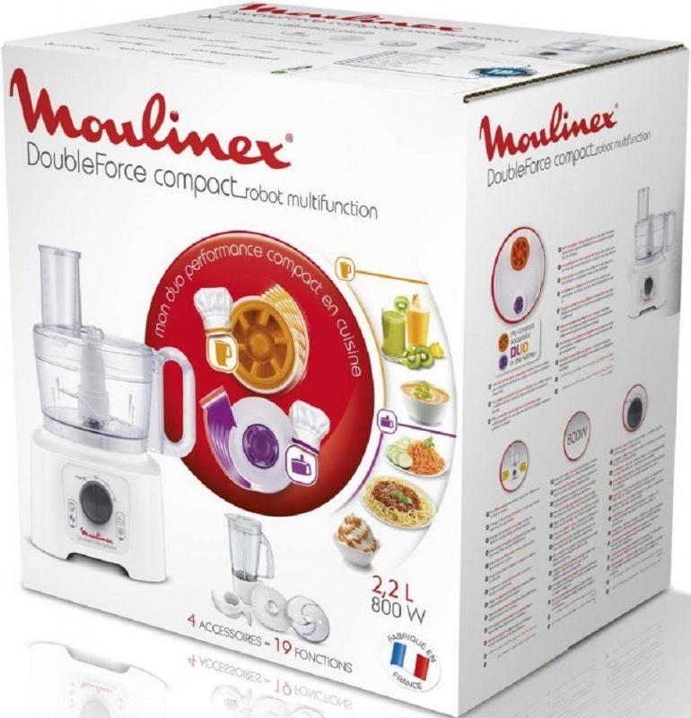 Кухонный комбайн Moulinex FP542132 белый - фото 8