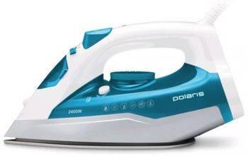 Утюг Polaris PIR 2442AK бирюзовый/белый