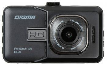Видеорегистратор Digma FreeDrive 108 DUAL (FD108D)