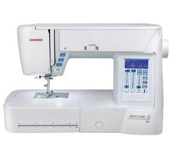 Швейная машина Janome Skyline S3 белый (SKYLINE S3)