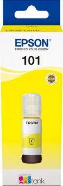 Картридж Epson L101 желтый (c13t03v44a)