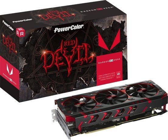 Видеокарта PowerColor AXRX VEGA 64 8GBHBM2-2D2H/OC 8192 МБ - фото 4