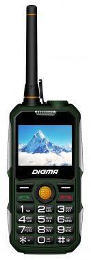 Мобильный телефон Digma Linx A230WT 2G темно-зеленый (LT1041MM)
