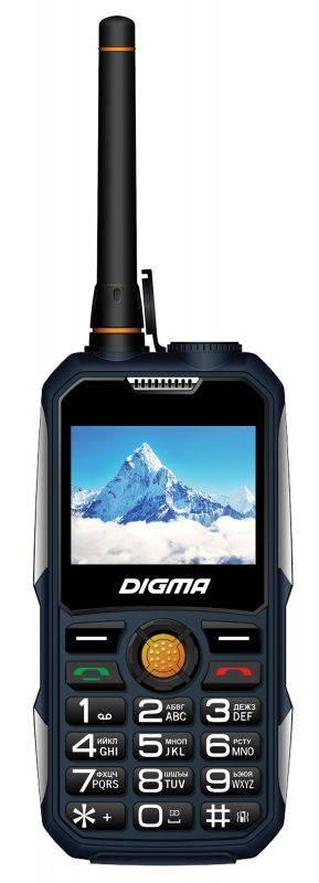Мобильный телефон Digma Linx A230WT 2G темно-синий (LT1041MM) - фото 1