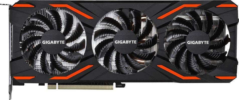 Видеокарта Gigabyte GV-NP104D5X-4G 4096 МБ - фото 2
