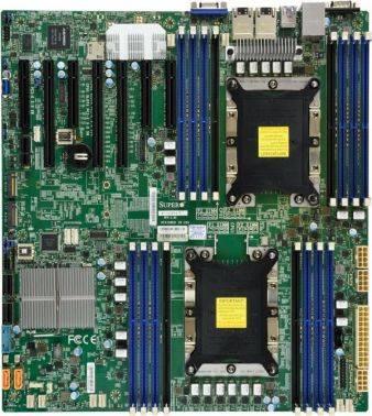 Серверная материнская плата Soc-3647 SuperMicro MBD-X11DPH-T-O eATX