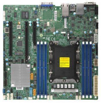 Серверная материнская плата Soc-3647 SuperMicro MBD-X11SPM-F-O mATX