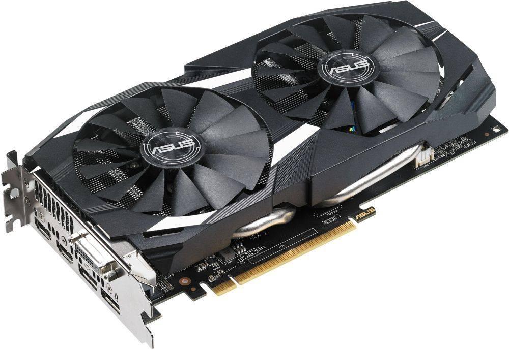 Видеокарта Asus Radeon RX 580 8192 МБ (DUAL-RX580-8G) - фото 1