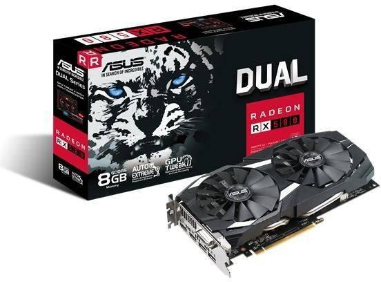 Видеокарта Asus Radeon RX 580 8192 МБ (DUAL-RX580-8G) - фото 5